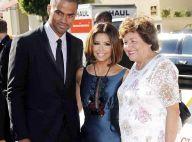 PHOTOS : Tony Parker, tapis rouge avec sa femme Eva... et belle-maman !