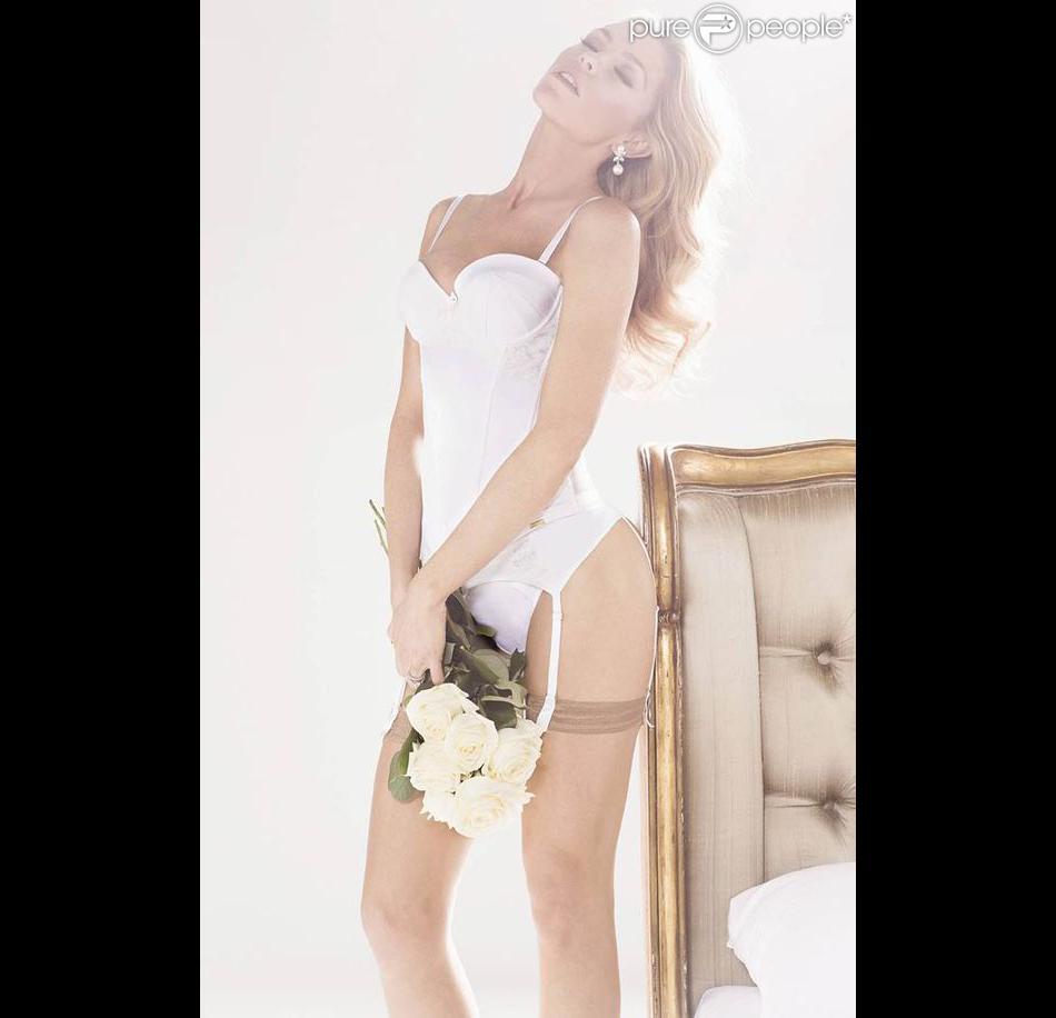Abbey Clancy joue la mariée sexy pour Ultimo et sa nouvelle collection Bridal.