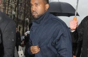 Fashion Week : Kanye West, fan de mode matinal pour le show Balenciaga