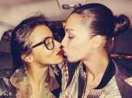 Shy'm : Un nouveau baiser troublant... avec un mannequin transsexuel