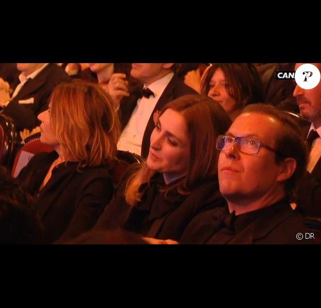 Julie Gayet pendant la cérémonie des César 2014.