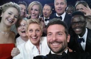 Ellen DeGeneres : Selfie de stars hollywoodiennes, pizzas... Son show aux Oscars