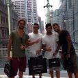 """Les photos de Benjamin lors du tournage en Australie """"Les Anges de la télé-réalité 6""""."""