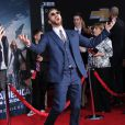 Chris Evans lors de l'avant-première du film Captain America - Le soldat de l'hiver, à Los Angeles le 13 mars 2014