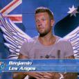 Benjamin dans Les Anges de la télé-réalité 6 sur NRJ 12 le lundi 17 mars 2014