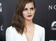 Emma Watson décolletée : Une sublime fashionista face au solitaire Russell Crowe