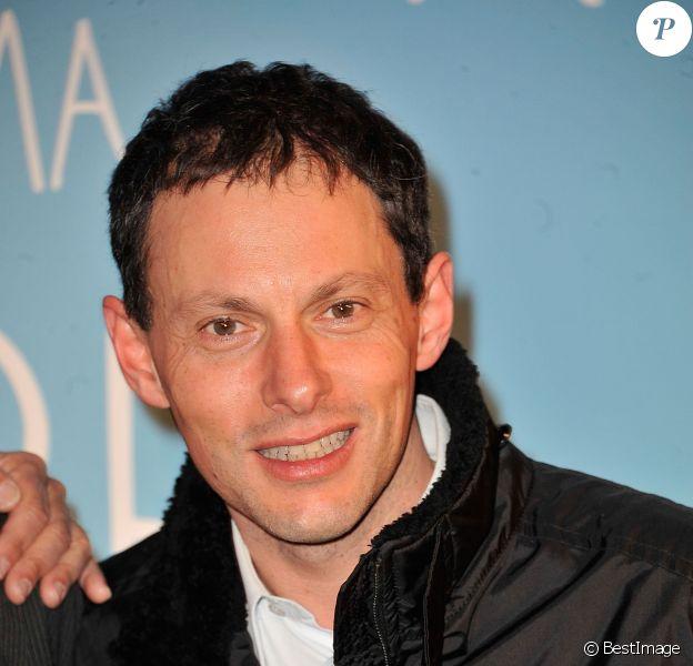 Marc-Olivier Fogiel - Avant-première du film 'Une chanson pour ma mère' au cinema UGC Les Halles à Paris le 25 mars 2013.