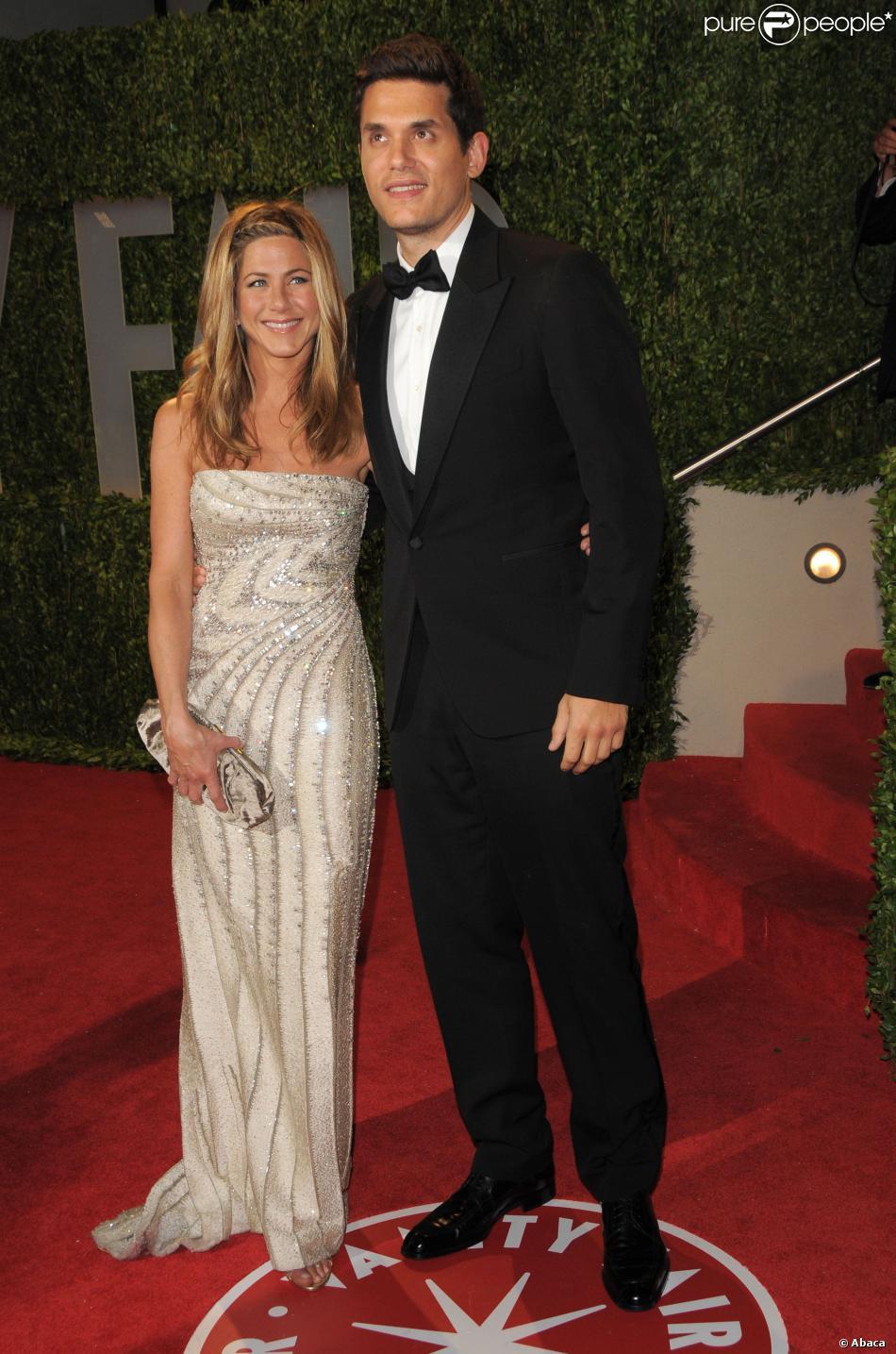 Jennifer Aniston et John Mayer à West Hollywood, le 22 février 2009.