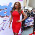 """Mel B (Melanie Brown) arrive aux auditions de l'émission """"America's Got Talent"""" à New York, le 8 avril 2013."""