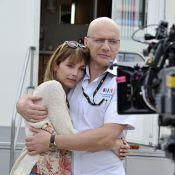 Samuel Le Bihan en Laurent Fignon : Crâne et sourcils rasés avec Claire Keim