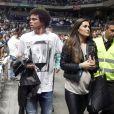 Pépé, le coéquipier de Cristiano Ronaldo, au match de basket en Euroligue entre le Real Madrid et le CSKA Moscou, le 20 mars 2014 au Palais des Sports de Madrid