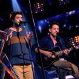 """Fréro Delavega dans """"The Voice 3"""" sur TF1 le samedi 15 mars 2014."""
