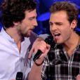 """Charlie dans """"The Voice 3"""" sur TF1 le samedi 8 mars 2014."""