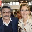 Louis Chedid et Maud Fontenoy - 34e édition du Salon du livre à Paris, Porte de Versailles, le 23 mars 2014.