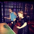 Jessica Chastain a posté la veille de la date de son anniversaire la soirée qu'elle a faite avec ses amis à Toronto : qui a gagné le match de ping pong ? - 23 mars 2014