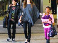 Angelina Jolie : Maman poule avec Zahara et Maddox et femme bouleversée