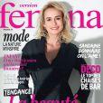 Sandrine Bonnaire en couverture de Version Femina, le supplément du Journal du dimanche le 29 mars 2014