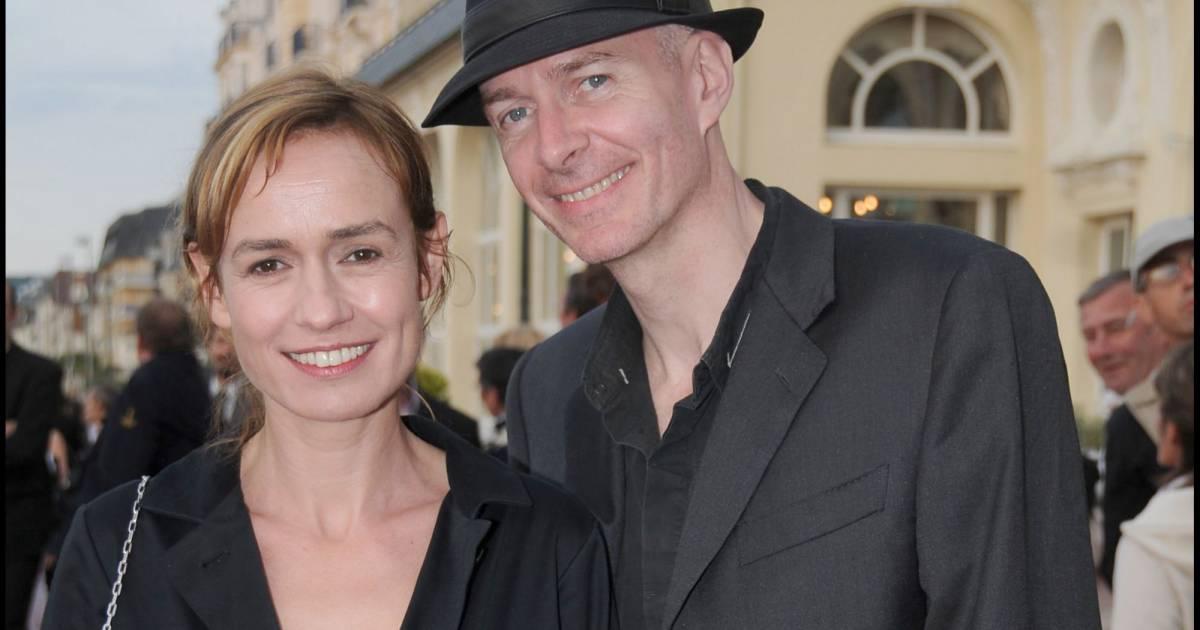 Sandrine bonnaire et son mari guillaume laurant lors du festival de cabourg en 2008 - Jeanne mas et son mari ...