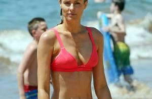 Paige Butcher : Sexy à la plage, sans son chéri Eddie Murphy