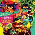 Illustration de One Love, One Rhythm, l'album officiel de la Coupe du Monde 2014, disponible à partir du 12 mai.