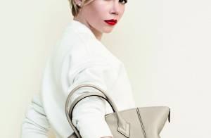 Michelle Williams : Parisienne captivante en femme Louis Vuitton