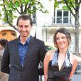 Arié Elmaleh et sa compagne Virginie Ledoyen