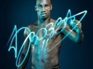 Didier Drogba, dénudé, dévoile sa ligne de sous-vêtements