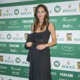 Tasha de Vasconcelos lors du Grand Gala du Tennis à Monaco le 18 avril 2014.