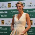 Tatiana Golovin lors du Grand Gala du Tennis à Monaco le 18 avril 2014.