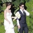 Justin Bartha et Lia Smith - Justin Bartha se marie avec Lia Smith lors d'une cérémonie à Hawaii, le 4 janvier 2014. Le couple est parent depuis le 13 avril 2014 d'une petite fille