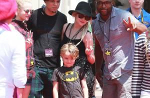 Ashlee Simpson et Evan Ross : Futurs mariés comblés avec l'adorable Bronx