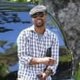 Exclusif - Cuba Gooding Jr. arrive à son hôtel à Los Angeles, le 6 avril 2014.