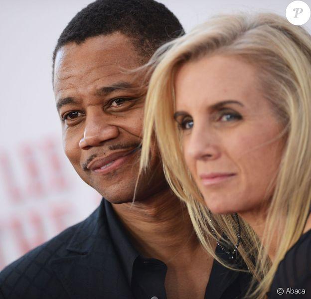 Cuba Gooding Jr. et sa femme Sara Kapfer à Los Angeles, le 12 août 2013.