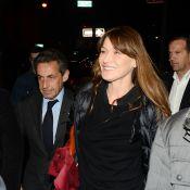 Carla Bruni : Acclamée à New York, devant Nicolas Sarkozy et son fils Louis
