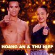 Hoang An et Thu Hiep ( The Best  - saison 2, épisode 2. Diffusé le vendredi 25 avril 2014 sur TF1.)