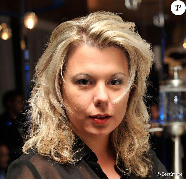 """Cindy Lopes à la conférence de presse des """"Lauriers TV Awards"""" à l'hôtel Seven à Paris, le 2 décembre 2013."""
