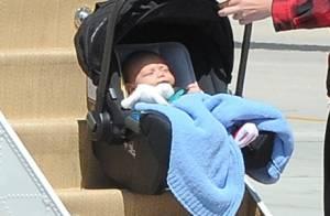 Gwen Stefani : Jet privé pour son bébé Apollo, destination Las Vegas !