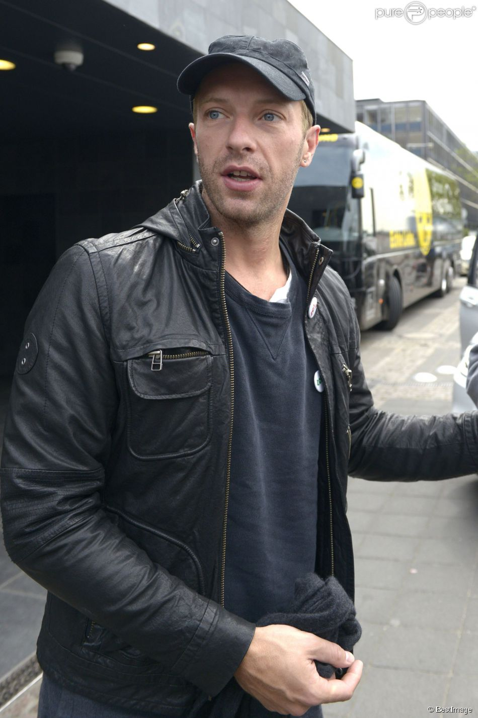 Chris Martin à Cologne en Allemagne, le 26 avril 2014.