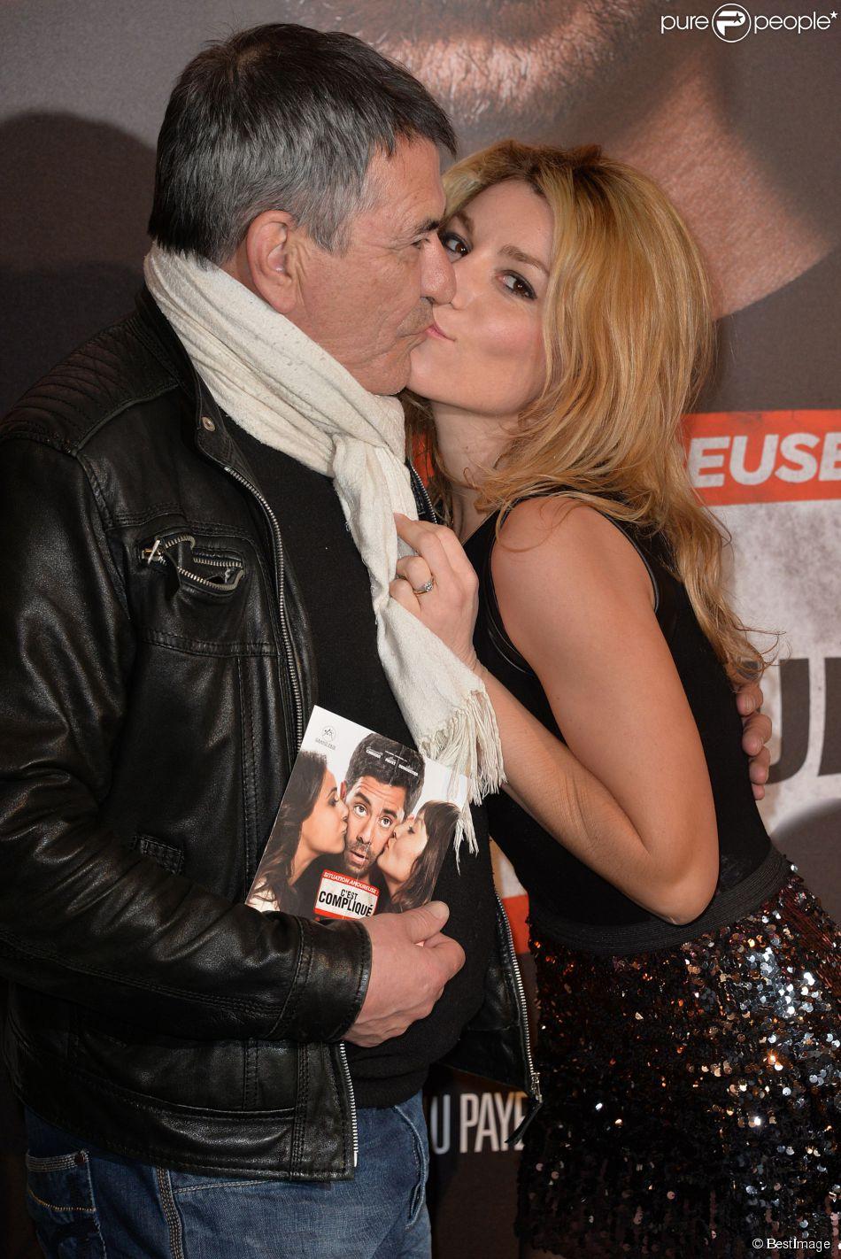Jean marie bigard et lola marois paris le 17 mars 2014 for Jean pierre marois