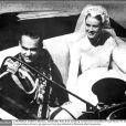 Le mariage du prince Rainier et de Grace à Monaco le 19 avril 1956