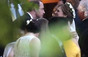 Princes William et Harry : Fête d'enfer au mariage de Guy Pelly et Lizzy Wilson
