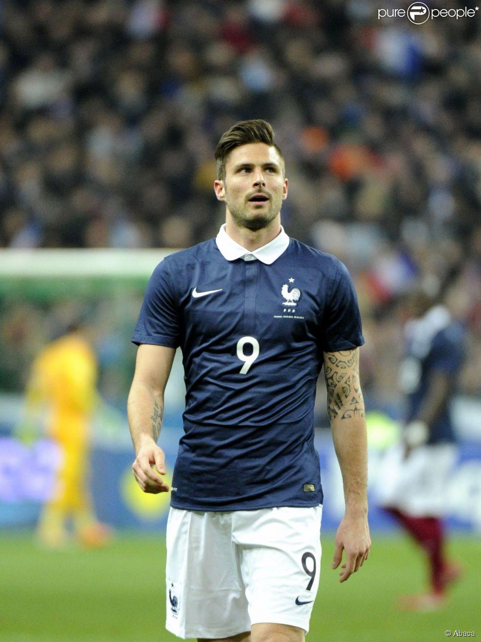 Olivet France  city photo : Olivier Giroud lors du match amical entre la France et les Pays Bas au ...