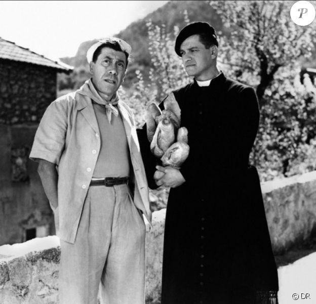 Jean Gaven avec Fernandel dans Le Boulanger de Valorgue.