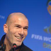 Zinédine Zidane, excédé : ''On raconte tout et n'importe quoi''