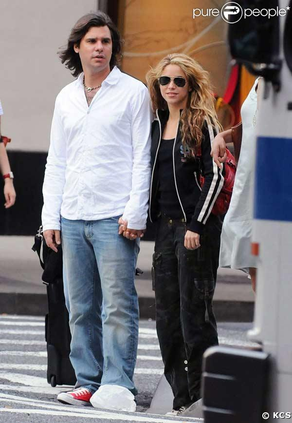 Shakira et son fiancé