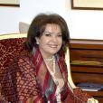 Baria Alamuddin, mère d'Amal Alamuddin, la fiancée de George Clooney (photo non datée), à Manama, le 21 janvier 2010