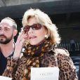 Jane Fonda arrive à Nice, le 13 mai 2014.