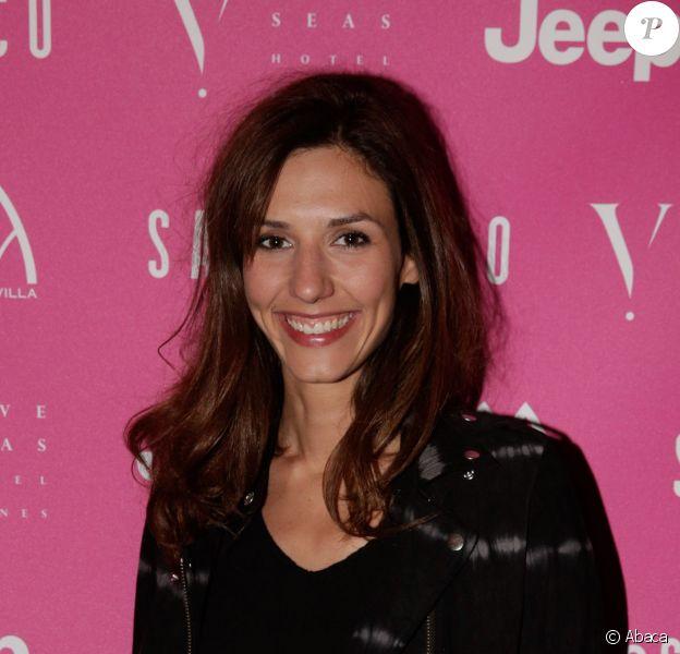 """Doria Tillier lors de la soirée """"Sandra and Co"""" au Five Seas Hotel à Cannes, le 13 mai 2014, la veille du Festival"""