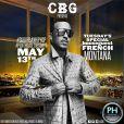 French Montana au Penthouse. West Hollywood, le 13 mai 2014.