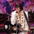 """Martin Fontaine dans """"Elvis Experience"""" à Paris au Palais des Sports du 30 décembre 2014 au 3 janvier 2015."""